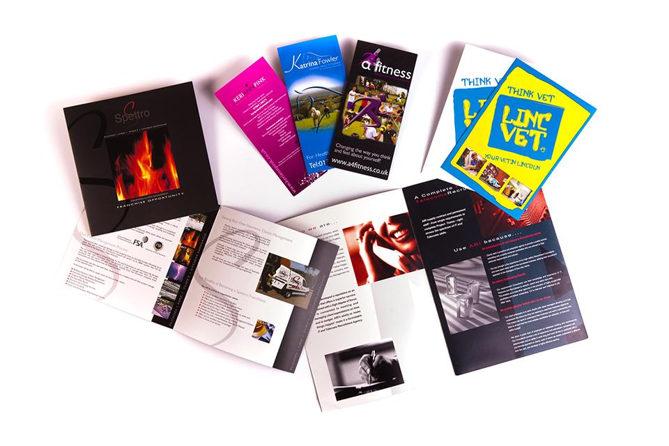 Print flyer and brochure design east sussex