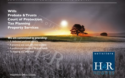 Advert designs for Solicitors, East Sussex