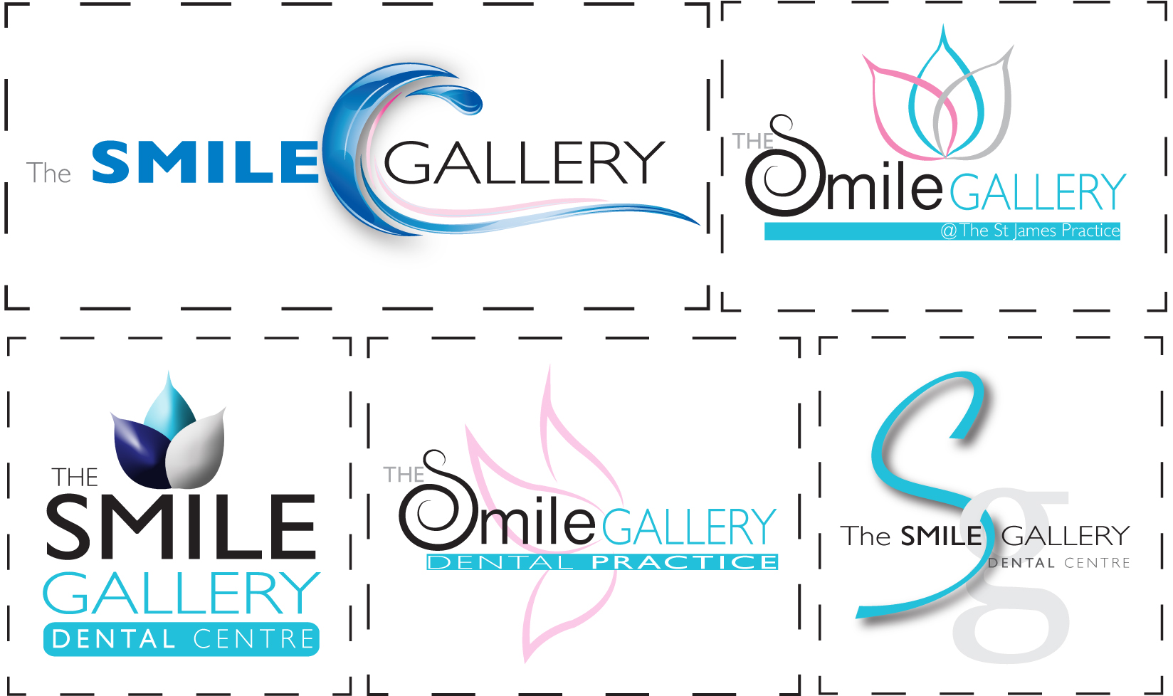 Local dental practice logo design and signage ideas - Cydney Lily